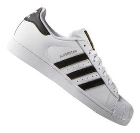 Tênis adidas Originals Superstar Branco E Preto - Original