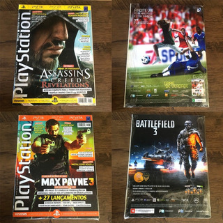 Lote - 10 Revistas Playstation Oficial - Brasil
