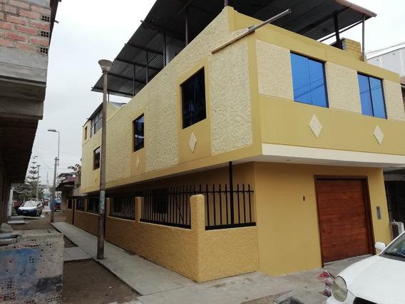 Alquilo Casa Completa De 2 Pisos + Azotea Villa Salvador