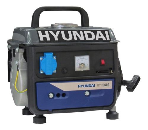 Generador Deluxe 0,78kva Hyundai Hyh960a -ferrejido