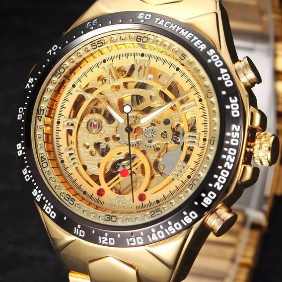 Relógio Masculino De Luxo, Pulso Mecânico Frete Grátis
