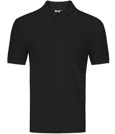 Camisa Polo Masculino Lisa Com Bolso Pronta Entrega