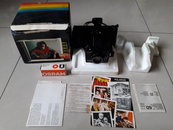 Câmera Fotográfica Antiga Colopárk 200 Polaroid Na Caixa