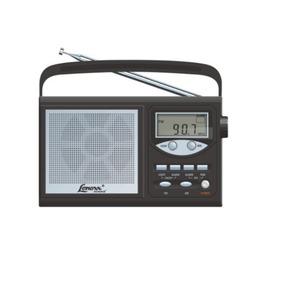 Rádio Portátil Lenoxx Com 10 Faixas Am/fm/oc - Rp-58 Outlet