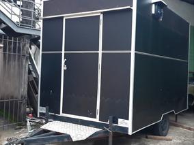 Food Truck 3x2m Premium + Câmara Fria