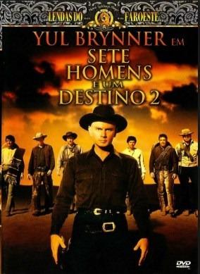 Dvd Sete Homens E Um Destino 2 1966 + Outro Filme De Brinde