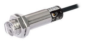 Sensor Óptico Tubolar C/espelho Alc3m Reg Npn 24vcc Br3m-mdt