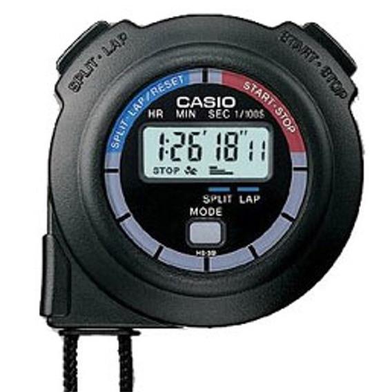 Cronometro Casio Hs-3v-1b Relojesymas