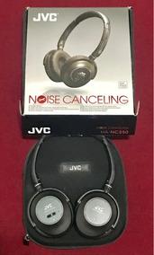 Fone Jvc Nc250 Noise Cancelling Cancela Ruído Áudio Hd