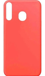 Capa Silicone Aveludada Xiaomi Redmi Note 8 Cor Goiaba