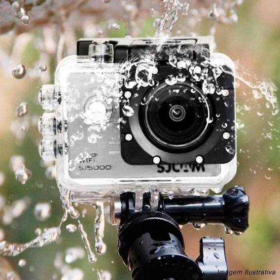 Camera Sjcam Sj5000 Wifi Original 14mp 170º Full Prata