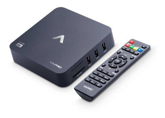 Smart Tv Box Android Stv-2000 Aquário Original Com Nota Fiscal 4k Original