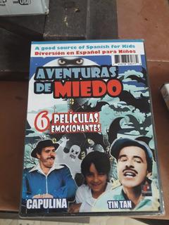 3 Dvd Peliculas Capulina