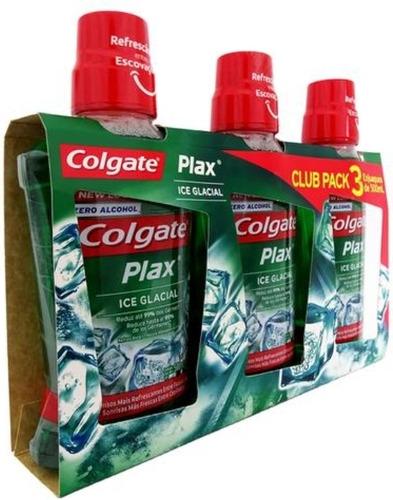 Colgate Plax Ice Glacial Enjuague Bucal - mL a $79