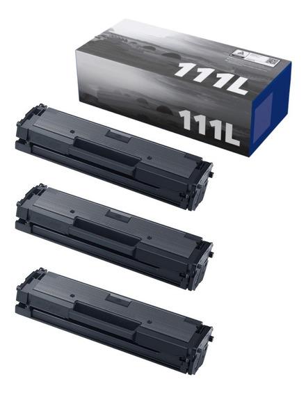 3 Toner Mlt-d111l D111s D111 M2020 M2020w M2070 M2070w 1.8k