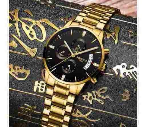 Relógio Masculino Ponteiro Grande De Pulso Original