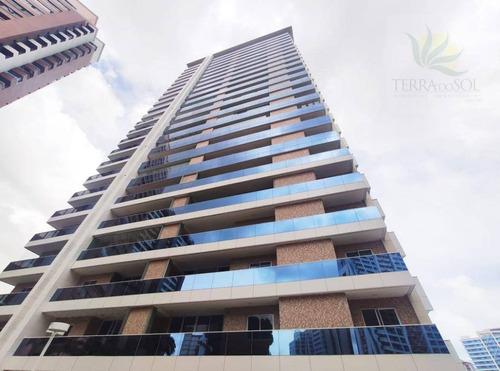 Apartamento Com 3 Dormitórios À Venda, 127 M² Por R$ 1.273.818,91 - Aldeota - Fortaleza/ce - Ap0846