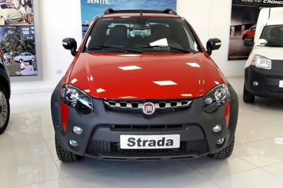 Fiat Strada Adventure 1.6 Cd + Pack Xtreme 0k 2019