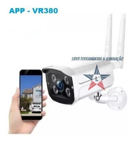 Camera Ip Wifi Externa Segurança Wireless Visao Noturna V380