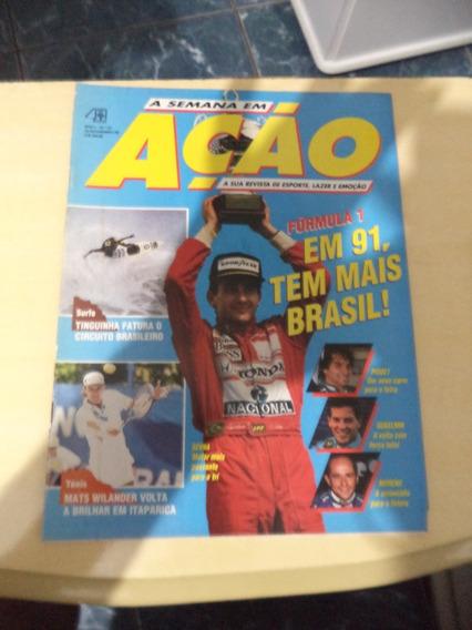 Revista Sp Em Ação Nº 16 - Finais Do Brasileirão De 1990