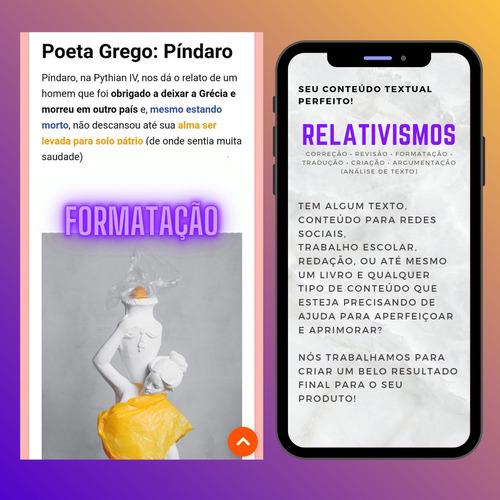 Correção/revisão/tradução/formatação De Texto E Conteúdo!