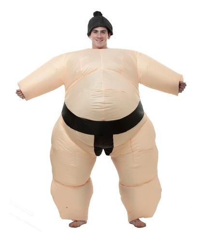 Imagen 1 de 1 de Disfraz Sumo Inflable Divertido Halloween