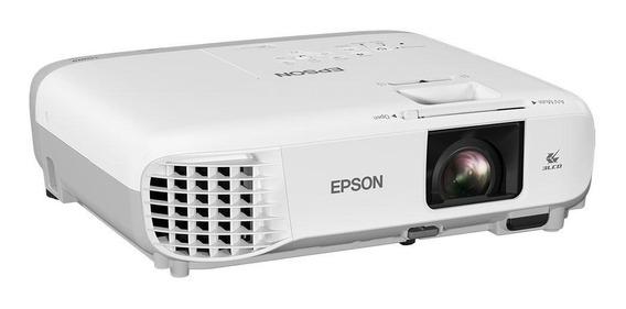 Projetor Epson X39 3.500 Lumens Powerlite 3lcd Usb Hdmi Xga