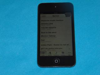 iPod Touch 4ta Gen 8 Gb Con Camaras, En Buen Funcionamiento