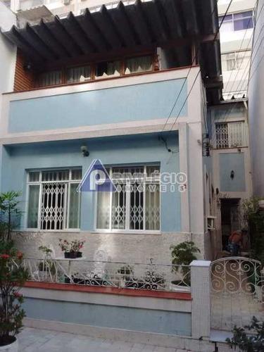 Casa De Vila À Venda, 2 Quartos, 2 Vagas, Copacabana - Rio De Janeiro/rj - 19436