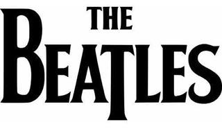 Adhesivo De Etiqueta Troquelada De Beatles - Logotipo De La