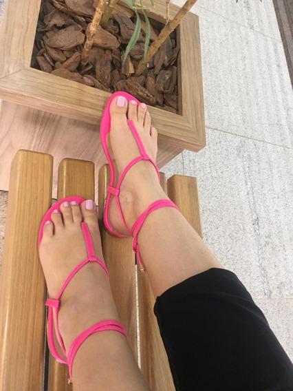 Rasteirinhas Feminina De Neon