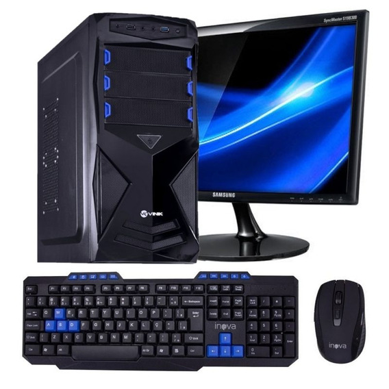Pc Gamer Completo Core I3 4gb 320gb 20