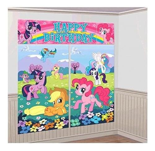 Decoración De La Habitación My Little Pony Scene Setter