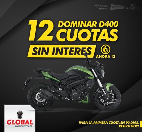 Bajaj Dominar 400 Ug 40hp Globalmotorcycles Olivos