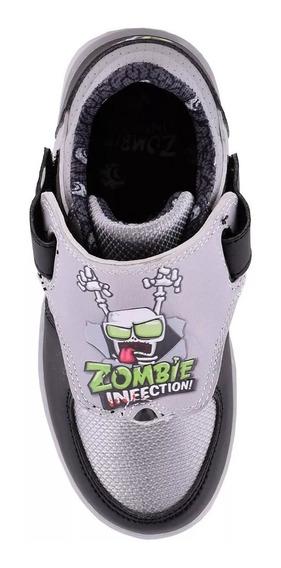 Zapatillas Zombie Footy Con Luz Al Pisar Del 26 Al 34!