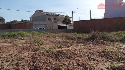 Terreno De 175m², Terraplanado. Loteamento Serra Dos Cristais, Próximo Ao Santa Gertrudes, Várzea Paulista. - Te0031