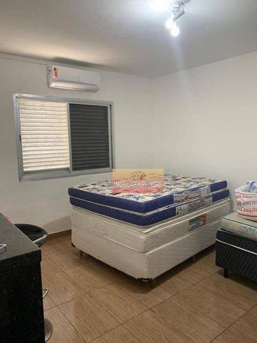 Imagem 1 de 6 de Apartamento Com 1 Dormitório À Venda, 40 M² Por R$ 140.000 - Mirim - Praia Grande/sp - Ap1035