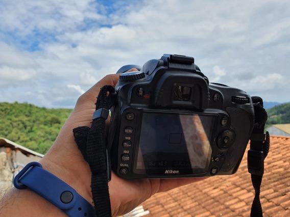 Câmera Nikon D90 Dslr 92k Disparos