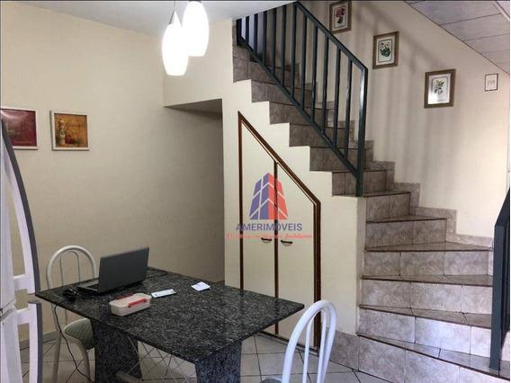 Casa Com 3 Dormitórios À Venda, 167 M² Por R$ 320.000 - Jardim Ipiranga - Americana/sp - Ca0929