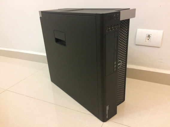 Workstation Dell Precision T3610 E5 16gb Ecc 500gb Quadro