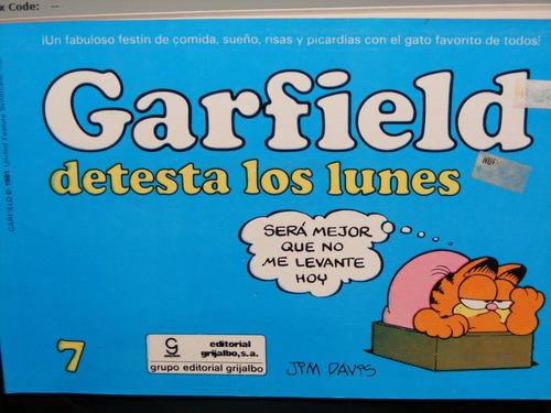 Historietas Garfield Detesta Los Lunes Jim Davis-1978