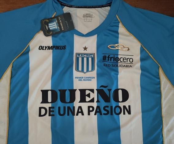 Camiseta Racing Olympikus Titular 2012 Frio Cero #5