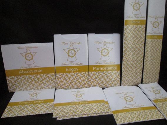 40 Rotulos Kit Toalete Personalizado Batizado Casamento