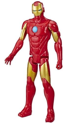 Boneco Titan Hero Marvel Homem De Ferro Hasbro E7873