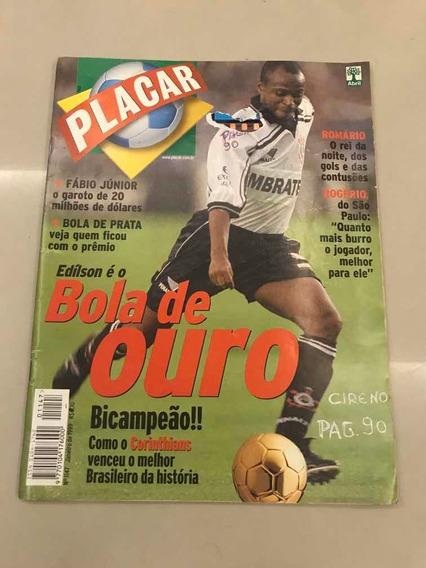 Revista Placar 1147 - Jan/1999 - Edílson, Corinthians