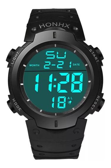 Relógio Original Honhx Digital Exército Resistente A Água