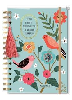 Planner Permanente Médio - Pássaros
