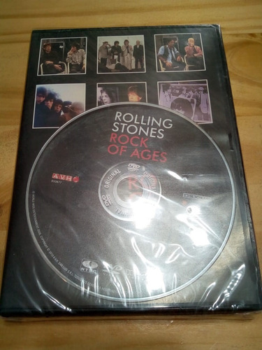 Rock Of Ages - Rolling Stones - Avh 2010 - Dvd
