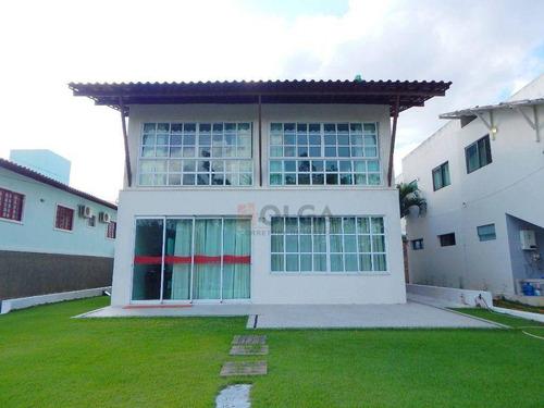 Imagem 1 de 30 de Casa Com 6 Dormitórios Em Condomínio, À Venda, 320 M²  - Gravatá/pe - Ca0749