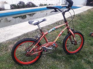 Bicicleta Rodado 14 Muy Bien Cuidada